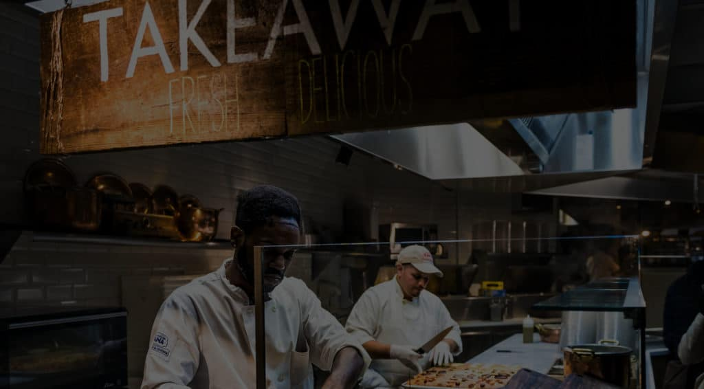 Order management for takeaways